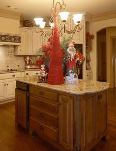 How To Decorate Kitchen Island For Christmas Decoration For Home