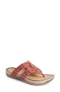Earth® Earth 'Sisal' Flat Sandal (Women) available at #Nordstrom   in apple green