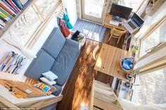 La mini casa de Alek Lisefski es todo un ejemplo a seguir | La voz del muro