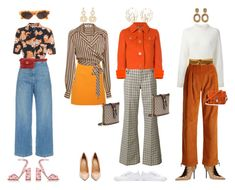 """orange"" by julie-elisabeth-thrane ❤ liked on Polyvore featuring Malone Souliers, Acne Studios, A.W.A.K.E., Marc Jacobs, Prada, Valentino, Reebok, MSGM, CECILIE Copenhagen and Diane Von Furstenberg"