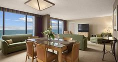 Hilton Cocoa Beach Oceanfront - Florida Hotel - One Bedroom Suite