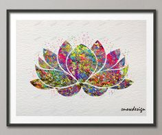 prints pictures on sale at reasonable prices, buy Rikivity Original Lotus Flower Yoga Symbol poster prints Wedding wall art canvas painting Buddha Picture Home Decoration sticker from mobile site on Aliexpress Now! Arte Chakra, Chakra Art, Lotus Flower Art, Lotus Art, Pintura Yoga, Lotus Kunst, Buddha Flower, Yoga Painting, Diy Painting