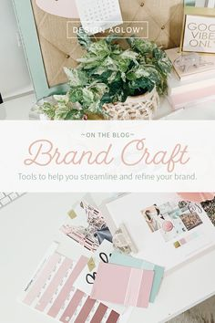 Learn about our 'Brand-in-a-Box' collections so photographers can easily create a beautiful, consistent, and seamless brand experience for their businesses without the help of a designer or copywriter. Etsy Business, Craft Business, Business Branding, Business Intelligence, Theme Design, Email Marketing Design, Photography Business, Making Ideas, Copywriter