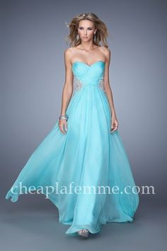 Caribbean Blue Short Prom Dresses