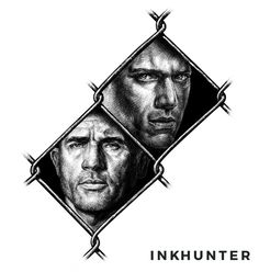 Augmented Reality Prison Break Tattoos. Try on with INKHUNTER tattoo app > http://prisonbreak.inkhunter.tattoo #PrisonBreakTattoo