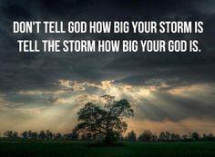 We serve a great God