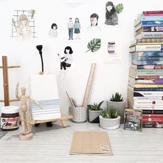 home-decor-workspace-naela-ali-living-loving-1 Home Office Space, Office Spaces, Rooms Home Decor, Room Decor, For All Things Lovely, Simple Aesthetic, Interior Decorating, Interior Design, House Furniture