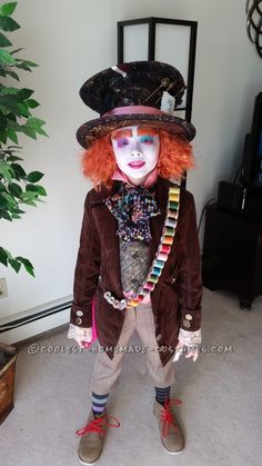 "Went ""Mad"" Making this Mad Hatter Costume!..."
