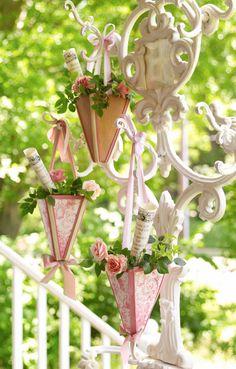cottag, shabby chic, shabbi chic, spring decor, shabbi pink