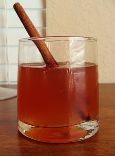 Korean Style Cinnamon-Ginger Tea  (saenggangcha).