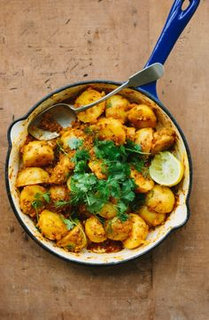 Amazing potato curry recipe from My Darling Lemon Thyme