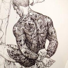 Kim Jung Gi Sketch Collection, News, and More!