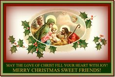 Merry Christmas! Today is a very special day as we celebrate family and the birth of Christ. Join me today for a short reminder of loving others!!