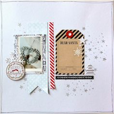 Layout mit dem #dpDezemberkit14 von Nadine Westphal für www.danipeuss.de |websters pages | pink paislee | American crafts | Memory Box