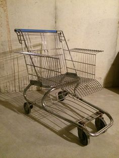 Grocery cart chair by Kevin Hartman