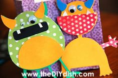 Make a Mini Monster Town! Cricut Ticket Contest and More « The DIY Dish