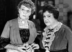 Arsenic and Old Lace - Jean Adair + Josephine Hull as the Brewster sister's who live with their bachelor brother John Alexander.