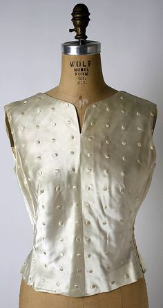 Blouse  House of Chanel  (French, founded 1913)  Date: 1919 Culture: French Medium: silk