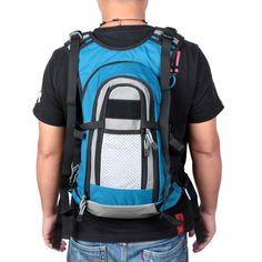 iLure Fishing Backpack Fishing Vest Combo Waistcoat Pack Multi-Purpose Outdoor Fish Bag