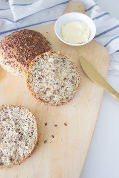 Low Carb Quarkbrötchen für Abwechselung auf dem Frühstückstisch