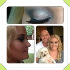 Cherie - hair and makeup for her engagement party - by bridge & Brooke