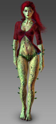 Poison Ivy Batman | Poison Ivy (Batman: Arkham Asylum) - Batman Wiki