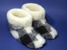 Шьем домашние сапожки из ненужных теплых вещей (Шитье и крой)   Журнал Вдохновение Рукодельницы