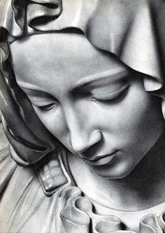 La Piedad de Miguel Ángel Buonarroti, (Renacimiento Italiano), Basílica de San Pedro, Roma, Italia, 1498—1499 | José Miguel Hernández Hernández