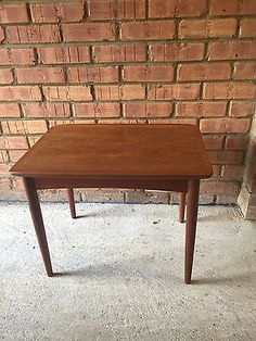 Mid 20th Century Danish Teak Coffee Table/Side Table by Mobelintarsia No. 60