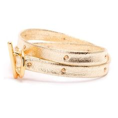 Graham Studded Double Wrap Gold now featured on Fab.