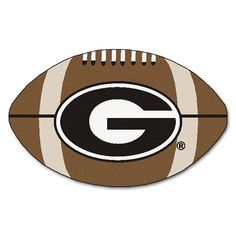 Georgia Bulldogs NCAA Football Floor Mat (22x35) G Logo on Red