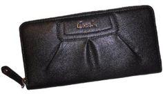 !@Best Buy Coach 45302 Black Leather Pleated Zip Around Wallet Nwt    Price: $190.00    .Check Price >> http://loanoneday.com/sale/landingpage.php?asin=B008ILQX6S