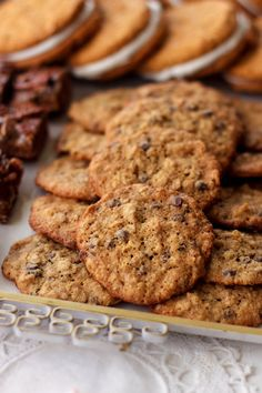 "Gluten Free ""Banana Bread"" Chocolate Chip Cookies {Beard and Bonnet}"