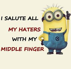 To all the haters out there