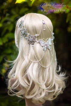 ~ Winter Wings Butterfly Circlet ~