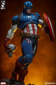 Marvel Captain America Premium Format(TM) Figure by Sideshow | Sideshow Collectibles