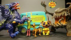 SCARY DRAGON VS SCOOBY DOO!! Untamed legends Dragon Unboxed W Grimlings ...