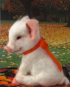 It seems that I'm still on a Halloween kick. So this week I have Casper , the white piglet & Spooky, a l...