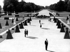 Many books and essays have been written about Alain Resnais' surrealist/existentialist Last Year at Marienbad, but I'm a fan of the film primarily for its hallucinatory qualities. Definitely not something for the Transformers crowd.