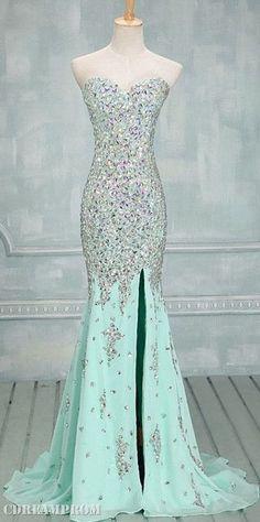 mermaid prom dress prom dresses.  Beautiful dress for a WOMAN, not a teenager.