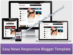 Easyblog - Responsive and SEO Blogger Template - MS Design ...