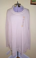 "NWT Women's Plus Size 2X NorthCrest Shirt Blouse Top Tunic 60"" Bust Super Comfy"