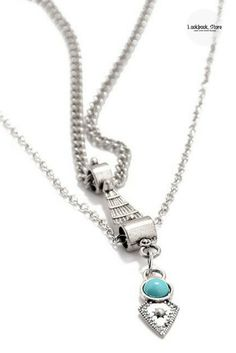 Accessorize // Designed with lobster lock and etched metal work, this silver turquoise layered belly chain can add a bohemian charm to any beach wear. Get one here.