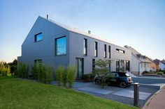 Two Row Houses in Goeblange by Metaform | HomeDSGN, a daily source for inspiration and fresh ideas on interior design and home decoration.