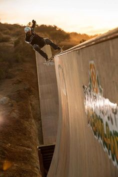 Wow! Image of Bob Burnquist by Oakley.  #skateboard #awesome