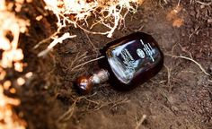 Tradition 1. Bury the Bourbon: Exactly one month before the wedding,bury a full, unopened bottle of bourbon at the site of the ceremony to ward off rain on their wedding day. After the ceremony, dig up the bottle to share with the wedding party.