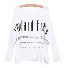 29,90EUR Longsleeve T-Shirt weiss mit Fledermausärmeln www.pinjafashion.com