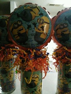 Despicable Me Minion Birthday Party Centerpieces   eBay