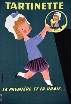 Tartinette, la première et la vraie... - 1950's - (Alain Gauthier) -