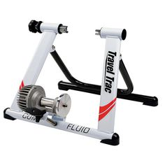 NEW Gift for your Cyclist Quiet Bicycle Cycling Comp Fluid Trainer Indoor Stationary Resistance. The faster you pedal, the harder it gets. The Travel Trac Comp Fluid Trainer uses progressive fluid resistance to give you a great workout. Cycle Trainer, Indoor Bike Trainer, Road Bike Women, Cool Bike Accessories, Running Accessories, Bicycle Maintenance, Indoor Cycling, Bike Reviews, Bike Seat